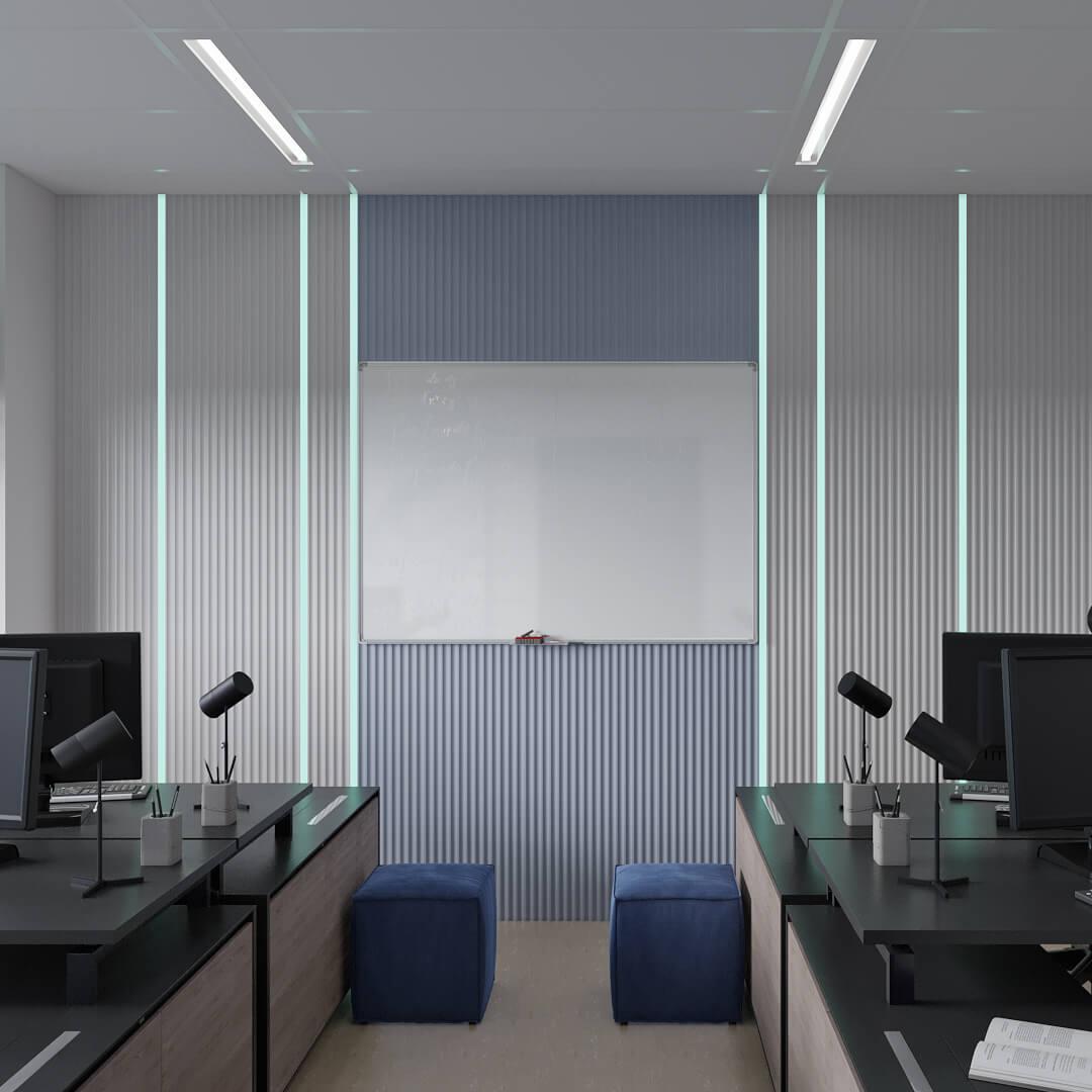 Дизайн кабинета it-специалистов, Dofamine